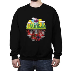 Plant Upside Down - Crew Neck Sweatshirt - Crew Neck Sweatshirt - RIPT Apparel