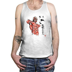 Flying For Freedom - Sumi Ink Wars - Tanktop - Tanktop - RIPT Apparel
