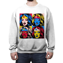 Pop Wonder - Crew Neck Sweatshirt - Crew Neck Sweatshirt - RIPT Apparel