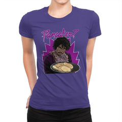 Pancakes - Anytime - Womens Premium - T-Shirts - RIPT Apparel