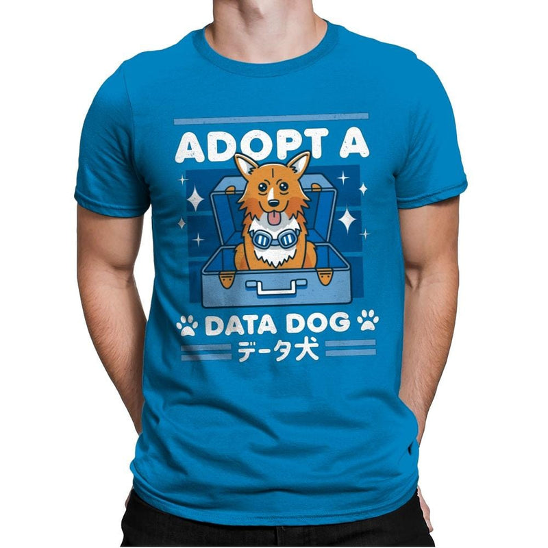 Adopt a Data Dog - Mens Premium - T-Shirts - RIPT Apparel