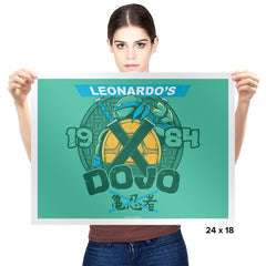 Leo's Dojo Exclusive - Prints - Posters - RIPT Apparel