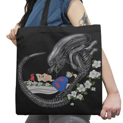 True Love's Kiss - Extraterrestrial Tees - Tote Bag - Tote Bag - RIPT Apparel
