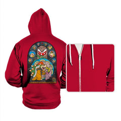 Beauty and the Bowser - Hoodies - Hoodies - RIPT Apparel
