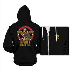 Fight like a Gal - Hoodies - Hoodies - RIPT Apparel