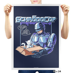 SchrödoCop Exclusive - Prints - Posters - RIPT Apparel