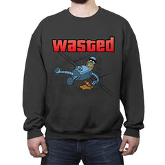 Wasted - Crew Neck Sweatshirt - Crew Neck Sweatshirt - RIPT Apparel