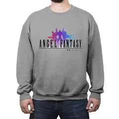 Angel Fantasy - Crew Neck Sweatshirt - Crew Neck Sweatshirt - RIPT Apparel