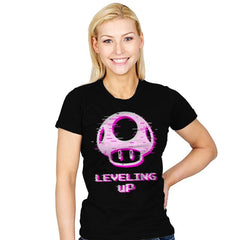 Leveling up - Womens - T-Shirts - RIPT Apparel
