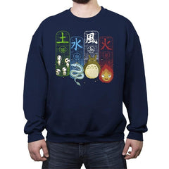 Elemental Charms - Crew Neck Sweatshirt - Crew Neck Sweatshirt - RIPT Apparel
