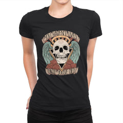 Honorary club of Dead Characters - Womens Premium - T-Shirts - RIPT Apparel