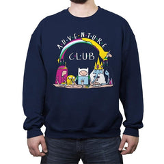 Adventure Club - Crew Neck Sweatshirt - Crew Neck Sweatshirt - RIPT Apparel