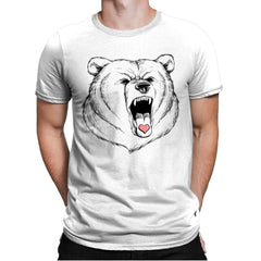 Universal Language Bear Love - Mens Premium - T-Shirts - RIPT Apparel