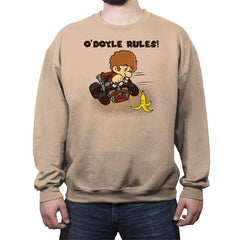 O'Doyle Rules! - Crew Neck Sweatshirt - Crew Neck Sweatshirt - RIPT Apparel