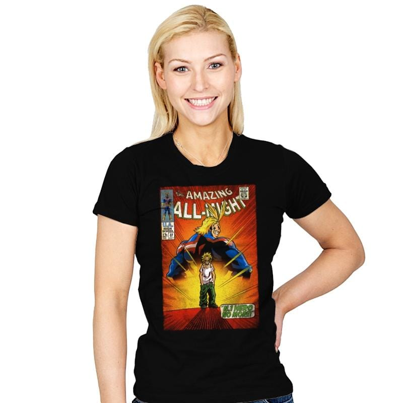 The Amazing All Might - Womens - T-Shirts - RIPT Apparel