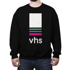 VHS Tape - Crew Neck Sweatshirt - Crew Neck Sweatshirt - RIPT Apparel