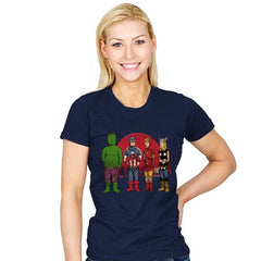King of the Heroes Reprint - Womens - T-Shirts - RIPT Apparel