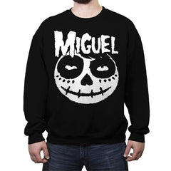 Crimson Miguel - Crew Neck Sweatshirt - Crew Neck Sweatshirt - RIPT Apparel