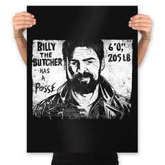 Butcher's Posse - Prints - Posters - RIPT Apparel