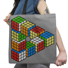 Magic Puzzle Cube Exclusive - Tote Bag - Tote Bag - RIPT Apparel