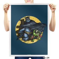 Monstrous Friends - Prints - Posters - RIPT Apparel