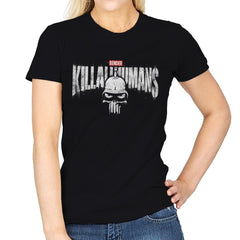 The Metal Punisher - Womens - T-Shirts - RIPT Apparel