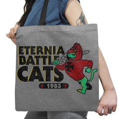 Eternia Battle Cats Exclusive - Tote Bag - Tote Bag - RIPT Apparel