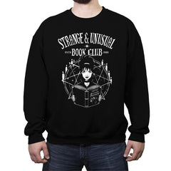 Unusual Book Club - Crew Neck Sweatshirt - Crew Neck Sweatshirt - RIPT Apparel
