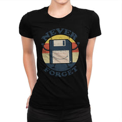Never Forget Me - Womens Premium - T-Shirts - RIPT Apparel