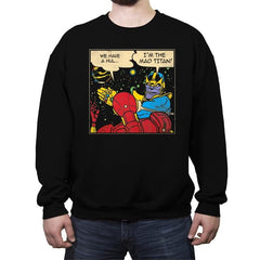Infinite Slaps - Crew Neck Sweatshirt - Crew Neck Sweatshirt - RIPT Apparel