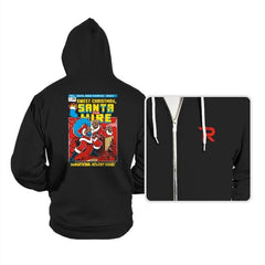 Santa For Hire - Hoodies - Hoodies - RIPT Apparel