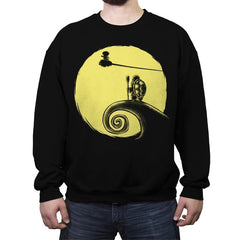 Kame Before Christmas - Crew Neck Sweatshirt - Crew Neck Sweatshirt - RIPT Apparel