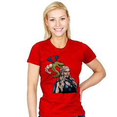 Burninating and Blood - Womens - T-Shirts - RIPT Apparel
