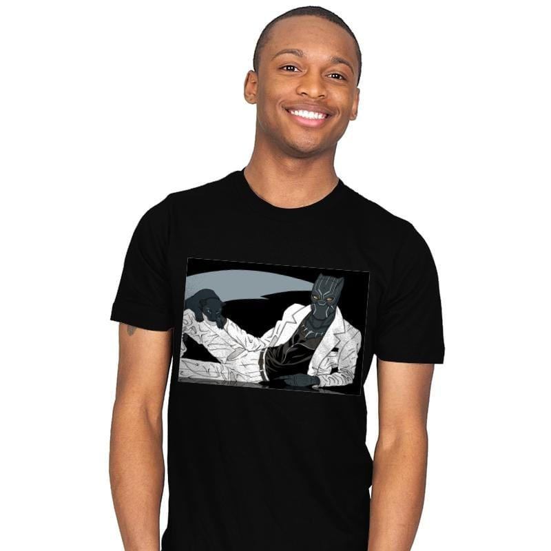 The Panther King of Pop - Mens - T-Shirts - RIPT Apparel