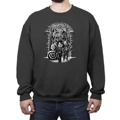 Gotham City Winter - Crew Neck Sweatshirt - Crew Neck Sweatshirt - RIPT Apparel