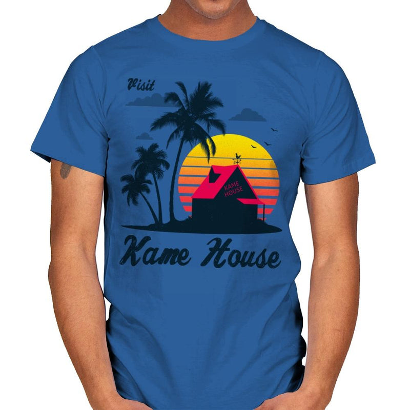 Visit Kame-House - Mens - T-Shirts - RIPT Apparel