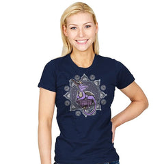 Violet Dragon - Womens - T-Shirts - RIPT Apparel