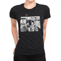 Bounty Hunter Posse - Womens Premium - T-Shirts - RIPT Apparel