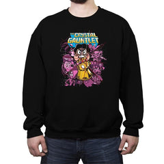 The Crystal Gauntlet - Crew Neck Sweatshirt - Crew Neck Sweatshirt - RIPT Apparel