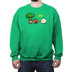 Accidental B - Crew Neck Sweatshirt - Crew Neck Sweatshirt - RIPT Apparel