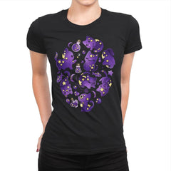 Cat Star - Womens Premium - T-Shirts - RIPT Apparel