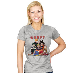 The Shonen Club - Womens - T-Shirts - RIPT Apparel