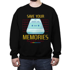 Memorycard - Crew Neck Sweatshirt - Crew Neck Sweatshirt - RIPT Apparel