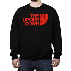THE UPSIDE DOWN - Crew Neck Sweatshirt - Crew Neck Sweatshirt - RIPT Apparel