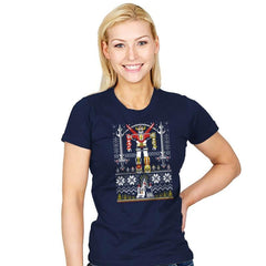 Yuletron - Womens - T-Shirts - RIPT Apparel