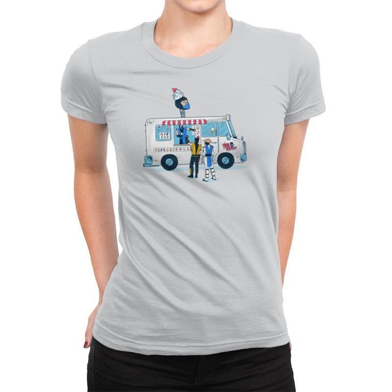 Sub Z's Frozen Treats Exclusive - Womens Premium - T-Shirts - RIPT Apparel