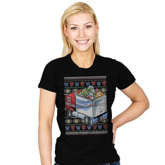 Presents in Disguise - Womens - T-Shirts - RIPT Apparel