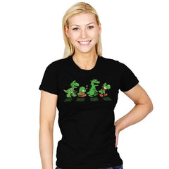 Green Scaly Road - Womens - T-Shirts - RIPT Apparel