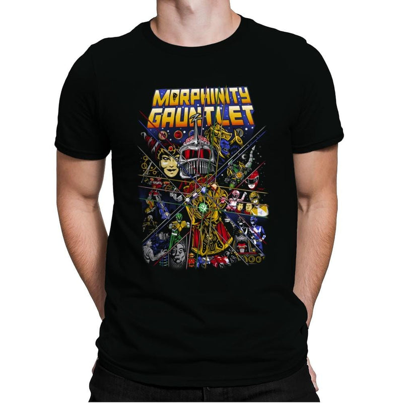 Morphinity Gauntlet - Best Seller - Mens Premium - T-Shirts - RIPT Apparel