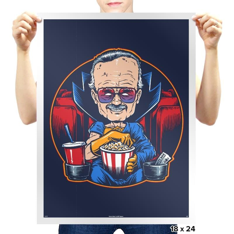 The Movie Watcher Exclusive - Prints - Posters - RIPT Apparel